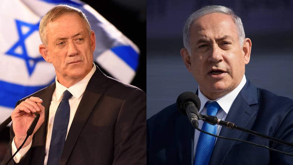 elezioni in israele netanyahu contro gantz